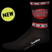 "Save Our Soles Oskar Blues Deviant Dales Bamboo 5"" Merino Compression Socks"