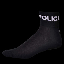 Save Our Soles Police Department Coolmax Socks