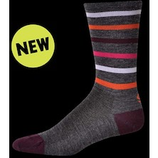 Save Our Soles Stripe 6 Merino Socks