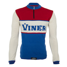 Viner Retro Long Sleeve Merino Jersey Made By Soigneur NZ