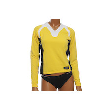 Vermarc Long Sleeved V Neck Supplex Ladies Jersey