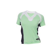 Vermarc Short Sleeved V Neck Supplex Ladies Jersey