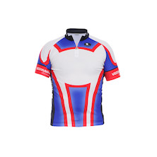 Vermarc Short Sleeved Short Zip Ninane TVX Jersey