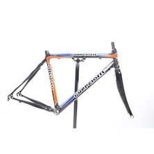Guerciotti Khaybar Frame And Carbon 3K Fork Blue And Orange  Medium