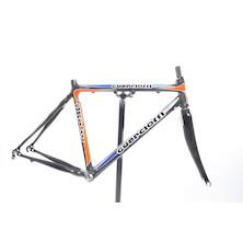 Guerciotti Khaybar Frame And Carbon 3K Fork Blue And Orange  Medium