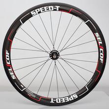 Selcof Speed-T Carbon Tubular Rear Wheel/700c/Campagnolo