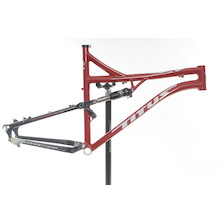 CLEARANCE Titus X Frame And Monarch Shock / X Large / Red / RockShox Monarch RT3
