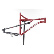 Titus X Frame And Monarch Shock / X Large / Red / RockShox Monarch RT3
