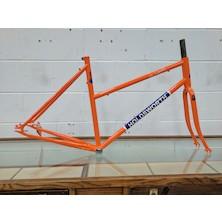 Holdsworth La Quelda Womens Steel Single Speed Frameset / Large/X Large / Orange