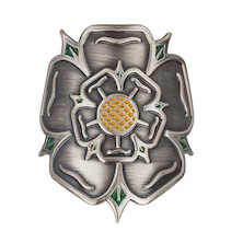 On-One Headtube Badge Yorkshire Rose For Steel Frame
