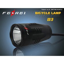 Ferei B5 680 Lumen LED Bicycle Light - Black