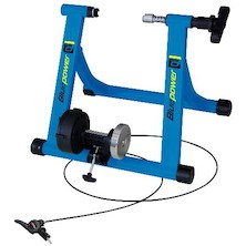 Riva Sport Blue Power Magnetic Turbo Trainer With Remote Cable