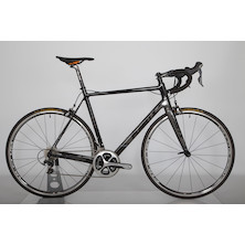 Planet X RT-80 Shimano Dura Ace Road Bike / X Large / Black/Grey/Black