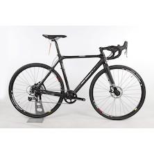 Planet X XLS SRAM Rival 1 Clincher Cyclocross Bike  54cm  Stealth BlacK