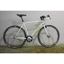 0150 - On-One Pompino Green Advancer Fixie Bike / Medium - New - Barnsley