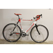0059 - Guerciotti Kangaroo Sram Rival Cyclocross Bike 57 White Red - Marked - Barneley
