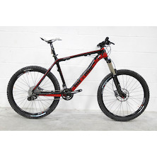 On-One 456 X9 Carbon Mountain Bike  Black And Red  20 Inch - Ex Display