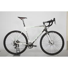 Viner Strada Bianca 3 Peaks Edition Gravel Bike  X Large  White  Green