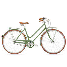 139 - Cobran Veloce Ladies Vintage Bicycle / 50cm / Green