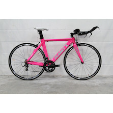 Planet X Stealth Pro Carbon SRAM Force Time Trial Bike  Medium Pink