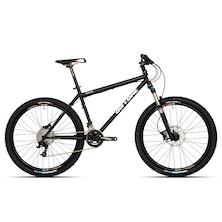 0039 - On-One Inbred 26 SRAM X5 Mountain Bike 18'' Matt Black - Marked - Sheffield
