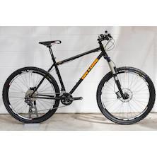 On-One 45650B Shimano Deore Mountain Bike 20inch  Black
