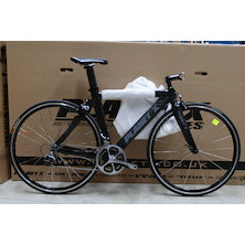 Planet X Stealth Pro Carbon Time Trial bike 9000 Dura Ace / Small / Black