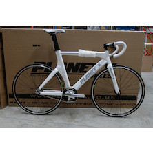 Planet X Franko Bianco Pro Carbon Track Bike Large Pearl White