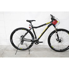 On-One Parkwood SRAM X5 Mountain Bike / Large / Black & Yellow