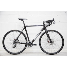212 - Planet X XLS SRAM Force1 Mechanical Cyclocross Bike Large 57cm Black, New