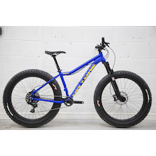 216 - On-One Fatty Trail SRAM X01 Fat Bike / Small / Electric Blue