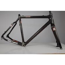 On-One Dirty Disco Cyclocross Frameset / 56cm / Matt Carbon / 700c / Used