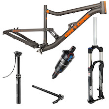 On-One Codeine 29er Frame, Fork, Rear Shock And Seatpost Bundle