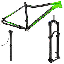 On-One Parkwood 27.5 Frame, Fork  And Seatpost Bundle