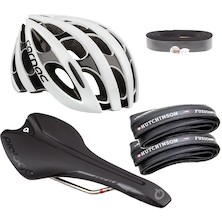 Premium Go Very Fast Helmet And Contact Point Bundle