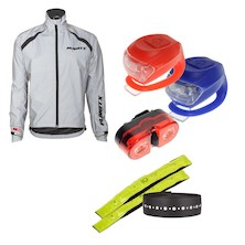 Reflective Urban Be Safe Be Seen Bundle