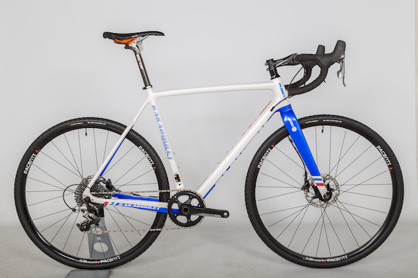 Planet X Kakaboulet / Large / White And Blue / Sram Rival 1