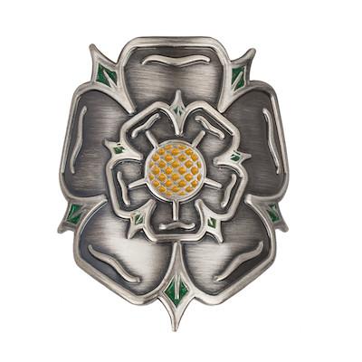 On-One Headtube Badge Yorkshire Rose For Steel Frame