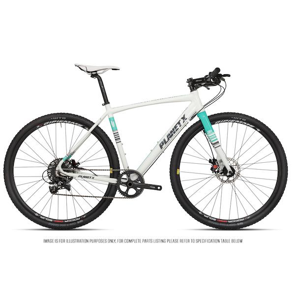 Planet X Full Monty SRAM Apex 1 Flat Bar Gravel Bike