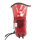 PODSACS  Waterproof 20L Rucksack / Red - White