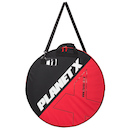 Planet X Padded Double Wheel Bag / 700c / Black and Red