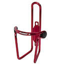 Planet X Alloy Bottle Cage / Red Anodised