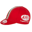 Apis Vintage Cotton Cycling Cap / One Size / Red