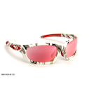 Carnac Metis Cycling Glasses (ANSI Z87.1) / Urban Camo / HD Rose
