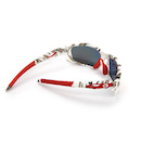 Carnac Metis Cycling Glasses (ANSI Z87.1) / Urban Camo / Smoke Red Revo / Orange OR80 / Transparent