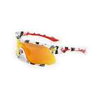Carnac Race Sunglasses / Urban Camo / Red Revo