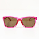 Carnac Razzle Polarised Sunglasses / Shiny Crystal Pink / Brown