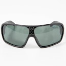 Carnac RSF SE Polarised Sunglasses / Matt Black / Green