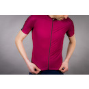 Carnac Men's Short Sleeve Jersey / Burgundy