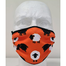 Planet X Sublimated Face Mask / Handle Baas Sheep orange